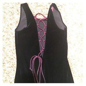 Royal Blue Velvet Dress size 5-6
